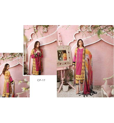 Multicolor C-Prints By Charizma Printed Lawn Suits Unstitched